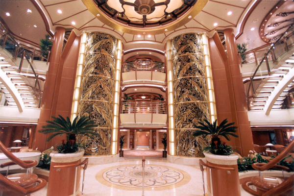 Golden Princess A Retrofit Remodel Review Cruise With