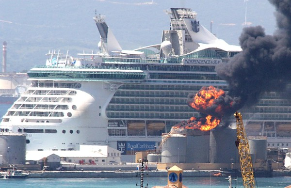 Gibraltar Rocked By Explosion At Cruise Dock Cruise