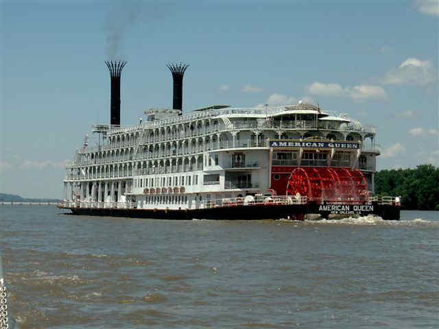 Mississippi Steamboating Returns On The American Queen By