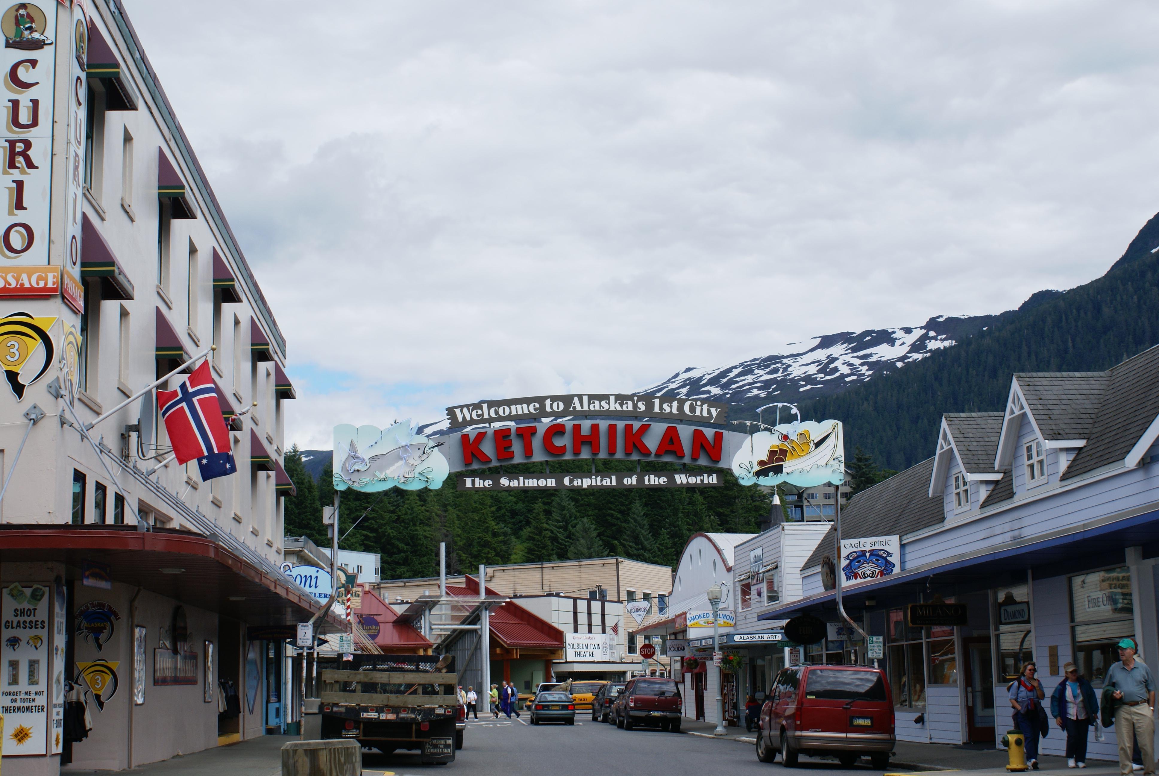 Alaskan Summer 2012 Family Cruise Day Seven Ketchikan