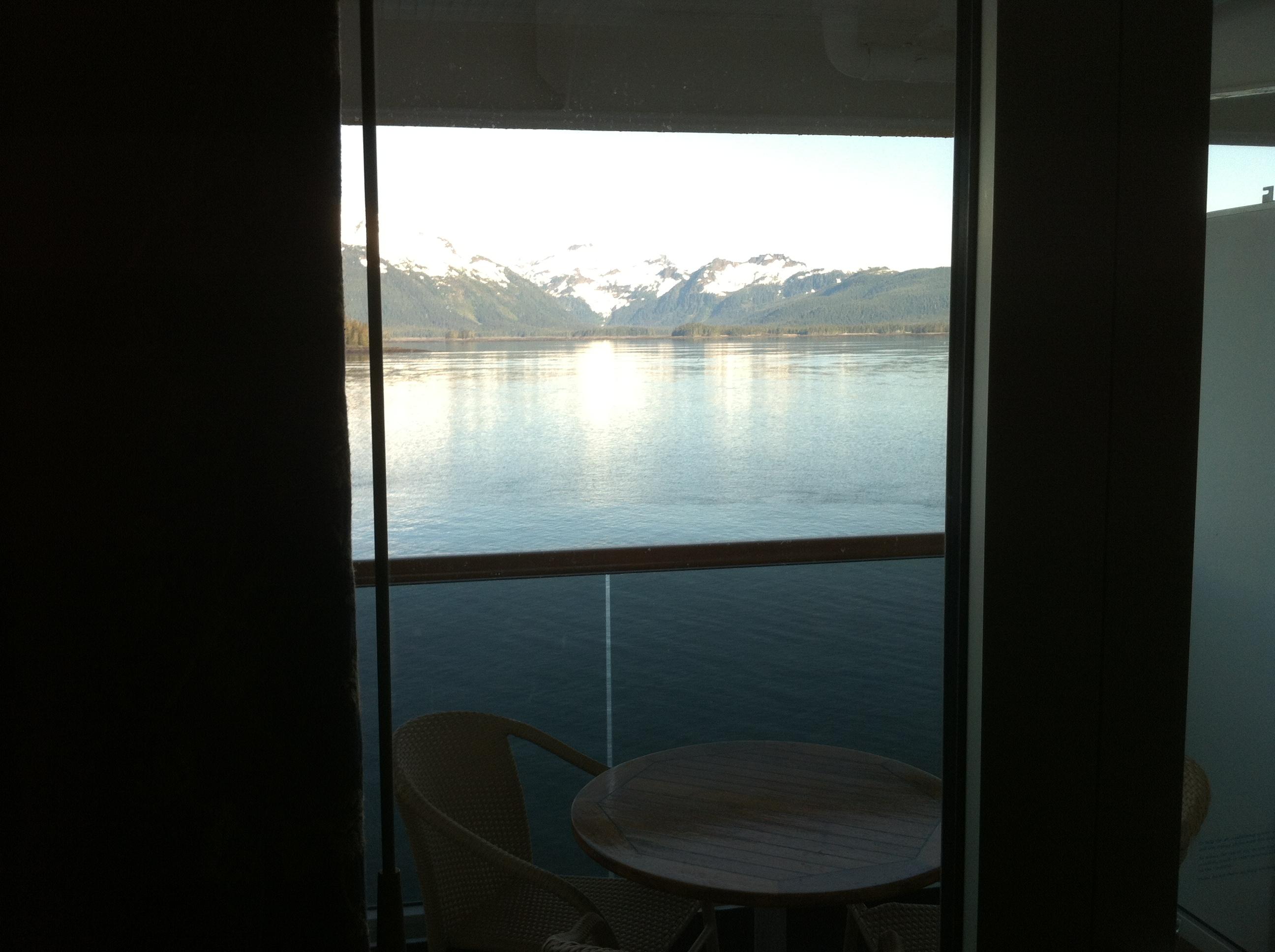 Alaskan summer 2012 family cruise day five glacier for Inside balcony